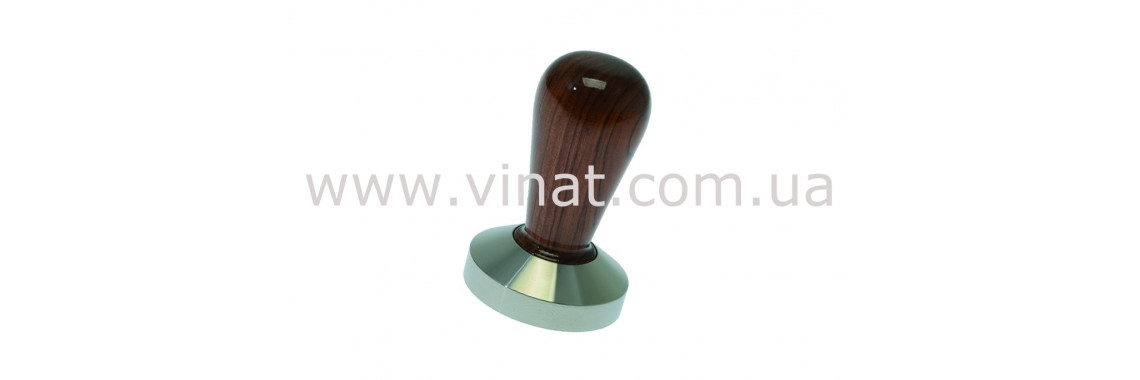 Темпер з дерев'яною ручкою Motta ø 58 мм