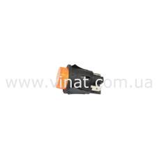 Двополюсний вимикач 16А 250V